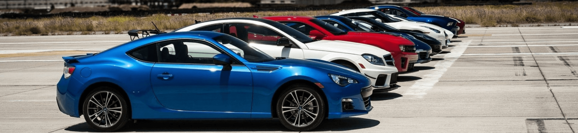 New cars and used care lined up at Brisbane Car Brokers